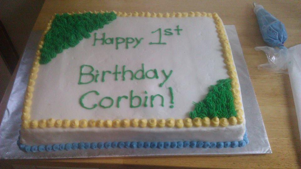 11x15 sheet cake