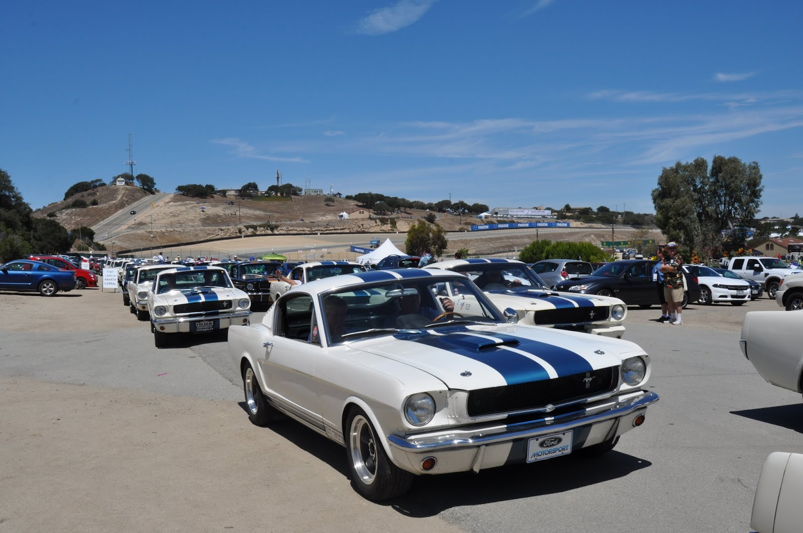 Virginia Classic Mustang Blog: Parade Laps at the 2015 Monterey ...