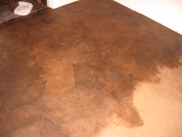 Ken started applying what would eventually be 7 coats of Polyurethane ...