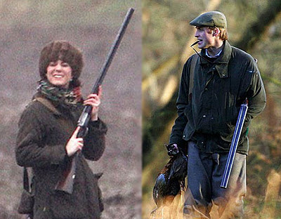 Kate and William shooting at Sandringham