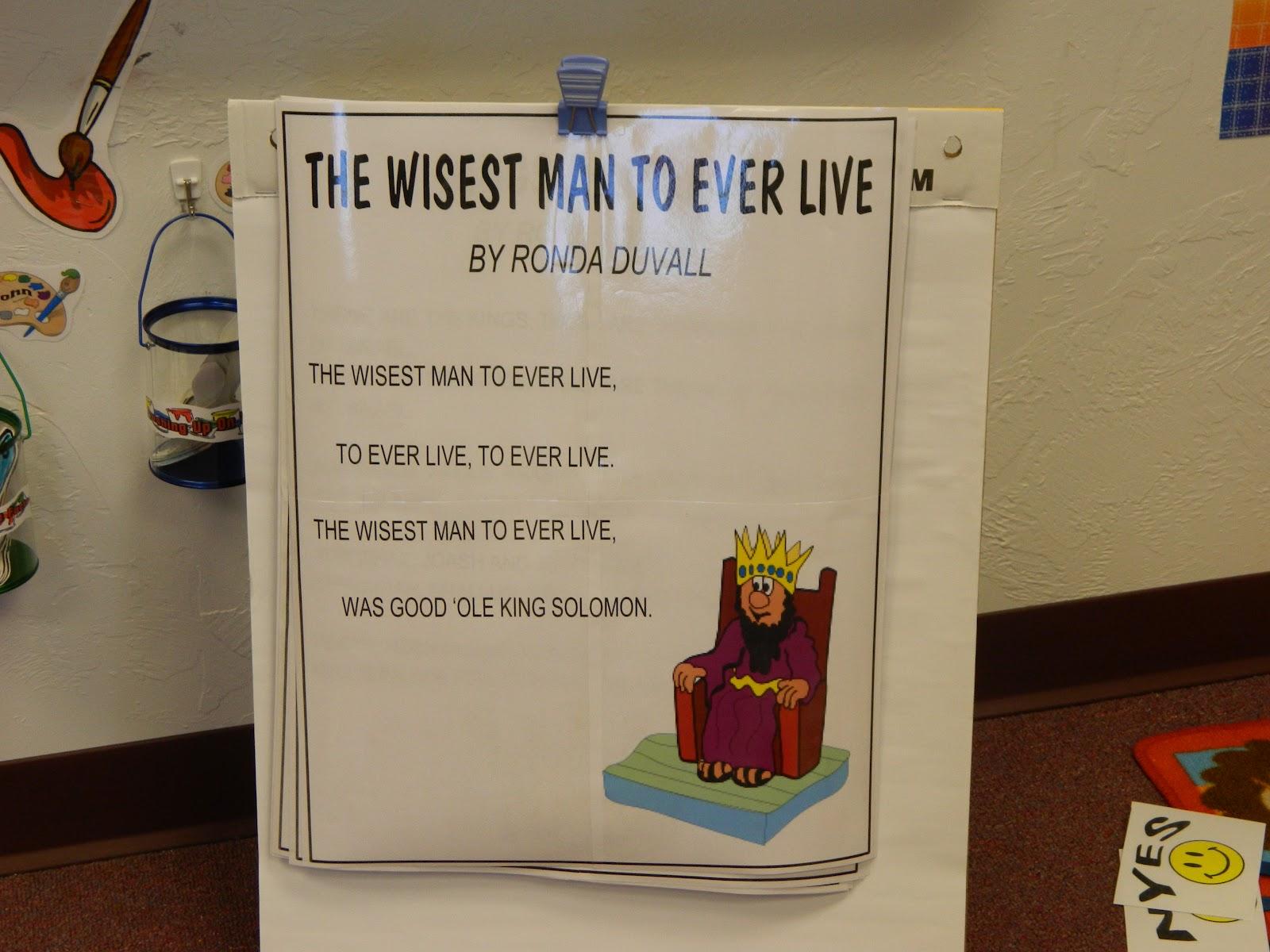 hands on bible teacher solomon shares his wisdom through the proverbs