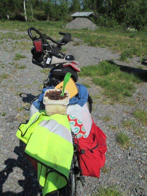 Pyöräilykesä 2016; 2567 km