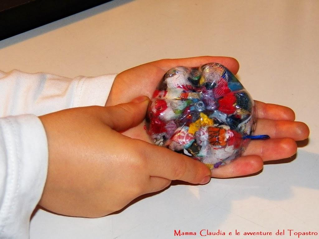 Mamma claudia e le avventure del topastro decorazioni - Decorazioni natalizie fatte a mano per bambini ...