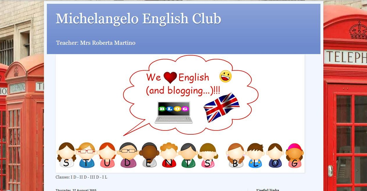 My students' blog
