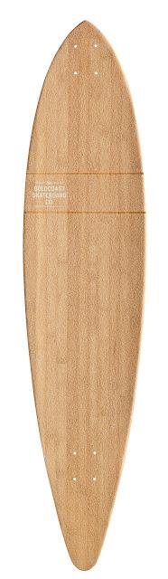 Bamboo Longboard Deck5