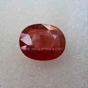 Batu Permata Orange Sapphire - SP609