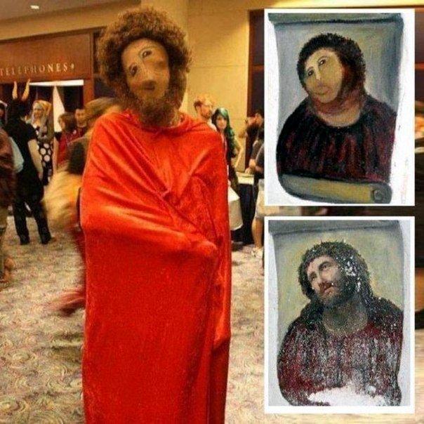 Cosplay de Cristo