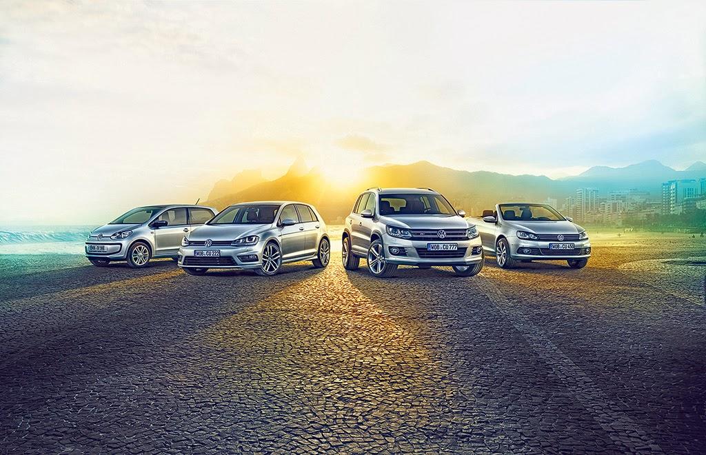 Ab sofort sind up!, Golf, Golf Variant und Golf Cabriolet sowie Beetle, Beetle Cabrio, Eos, Touran, Tiguan und Sharan in der neuen Modellvariante bestellbar.