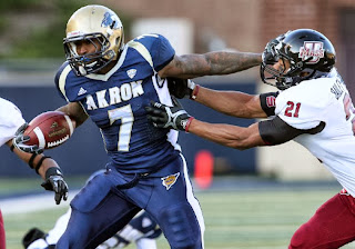 Akron, Miami OH, college football