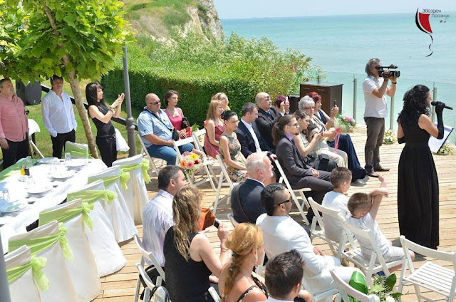 сватбена церемония водена от милена петкова