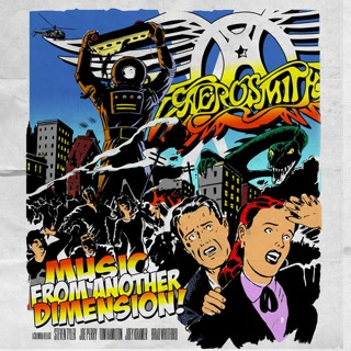 Aerosmith Music From Another Dimension album cover 2013