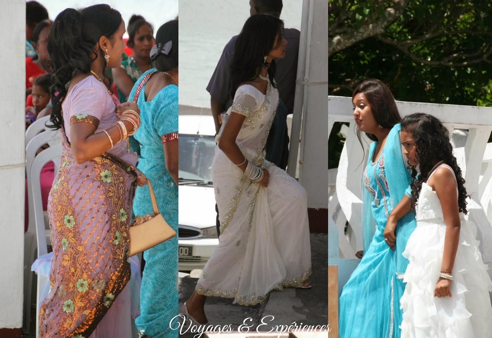 Voyages et exp riences maurice mariage indien traditions couleurs et beaut - Decoration mariage hindou ...