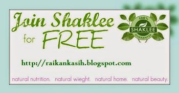 Daftar Shaklee Percuma