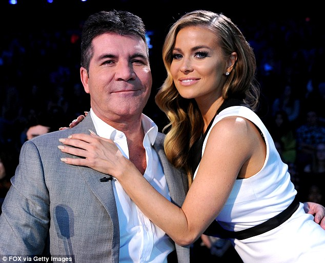 """""""X-Factor"""" Judge Simon Cowell Confirms 'Dating' Carmen ..."""