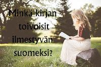 Avoin kirje suomalaisille kustantajille