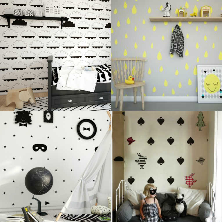 estas de pared de humpty dumpty room decor me han parecido preciosos
