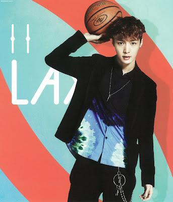 exo lay calendar 2014