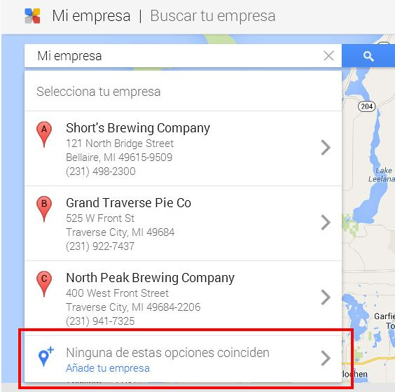 Google my business paso 4