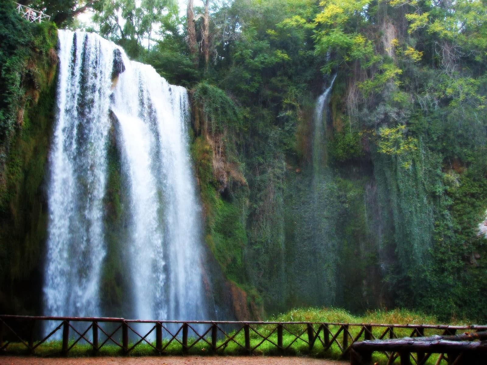 Pinceladas actuales monasterio de piedra cuevas y cascadas for Cascadas de piedra