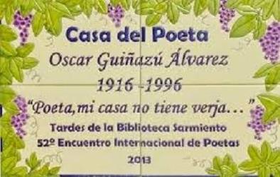 Poeta Mi Casa no tiene verja...