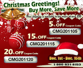 Christmas greeting promotion from usb phone world