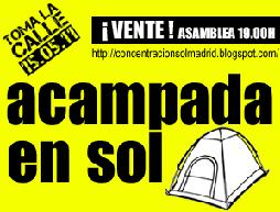 Acampada Sol