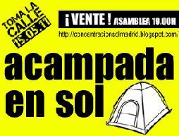 Acampada Sol