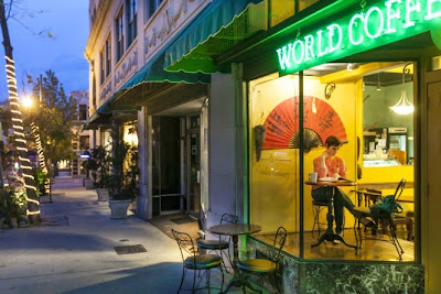 World Coffee Cafe in Asheville, NC