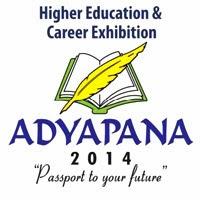 ADYAPANA 2014 Higher Education & Career Exhibition September 26-28