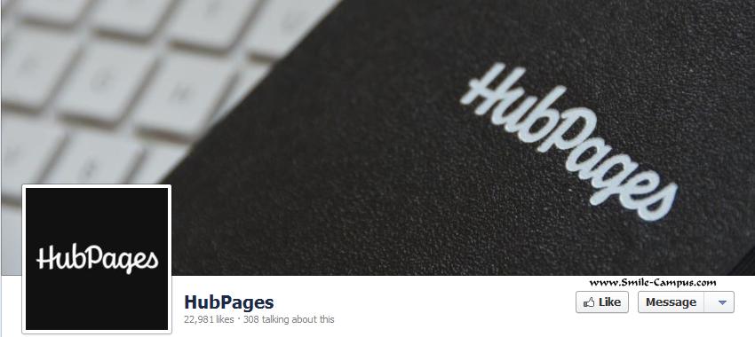 Hubpages.com Facebook Timeline Page
