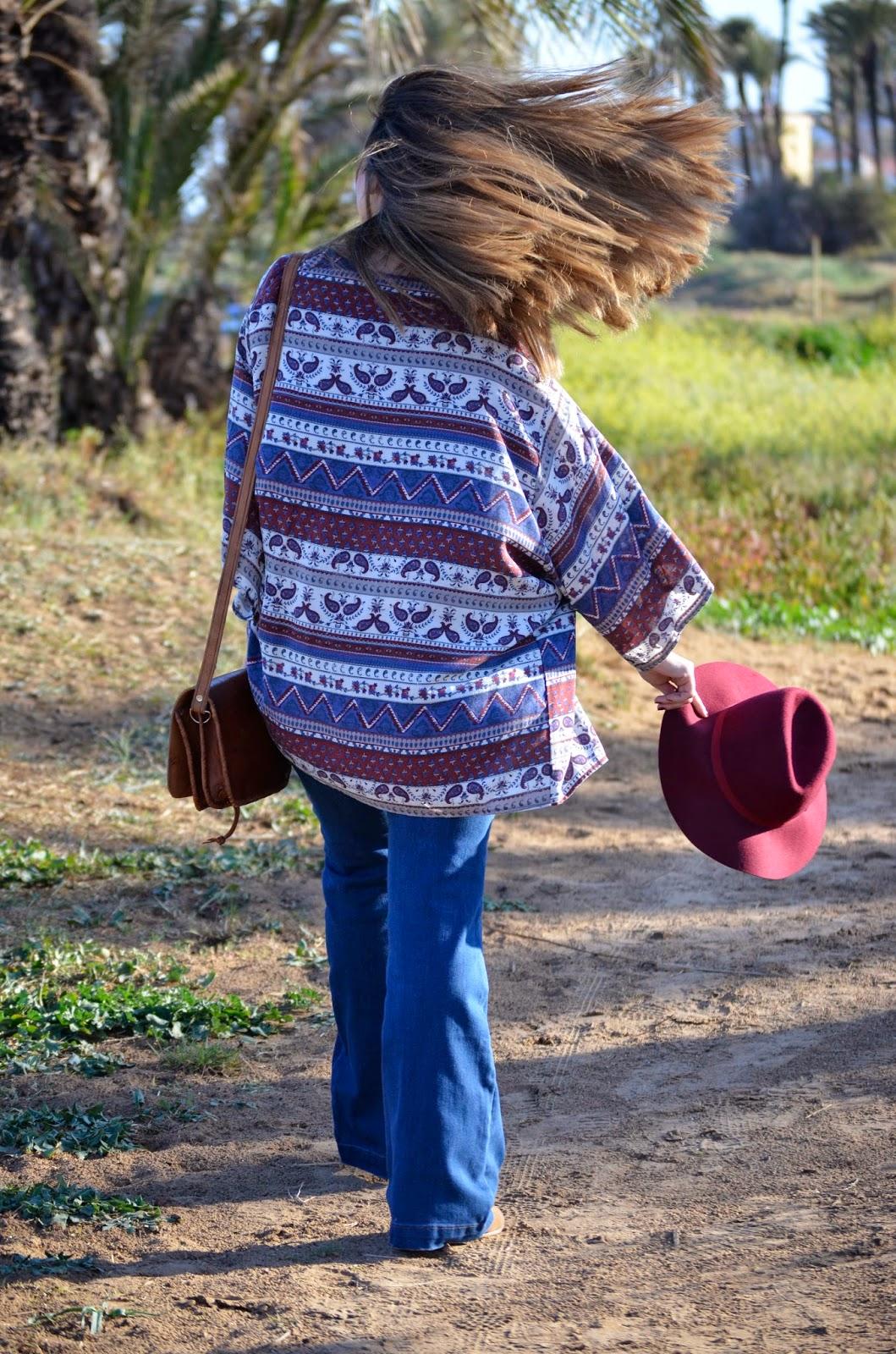pantalon campana tendencia primavera