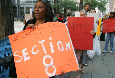People Marching For Section 8