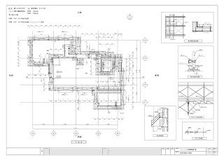 マンション大規模改修工事 仮設計画図 メータサイズ
