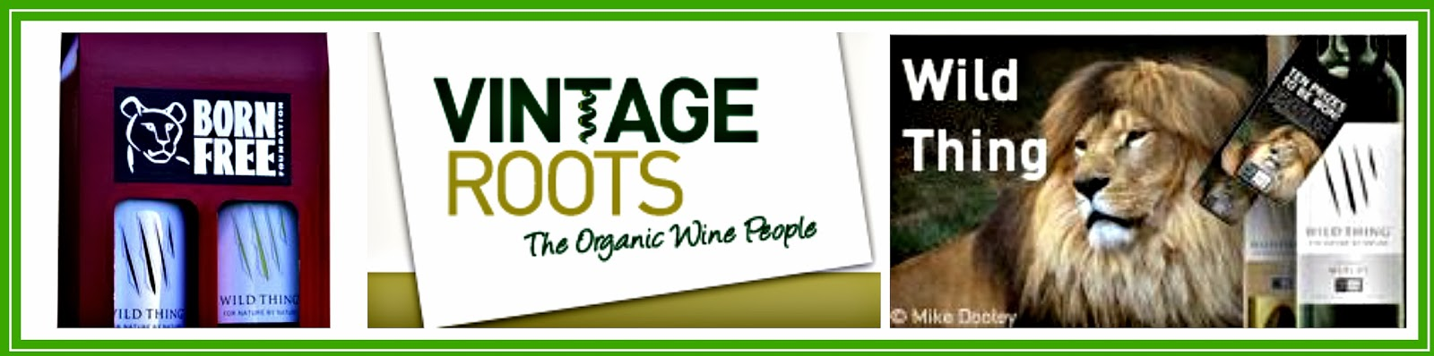 Organic Wine from Vintage Roots - The Organic Wine People - Born Free