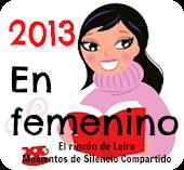 RETO LITERARIO EN FEMENINO