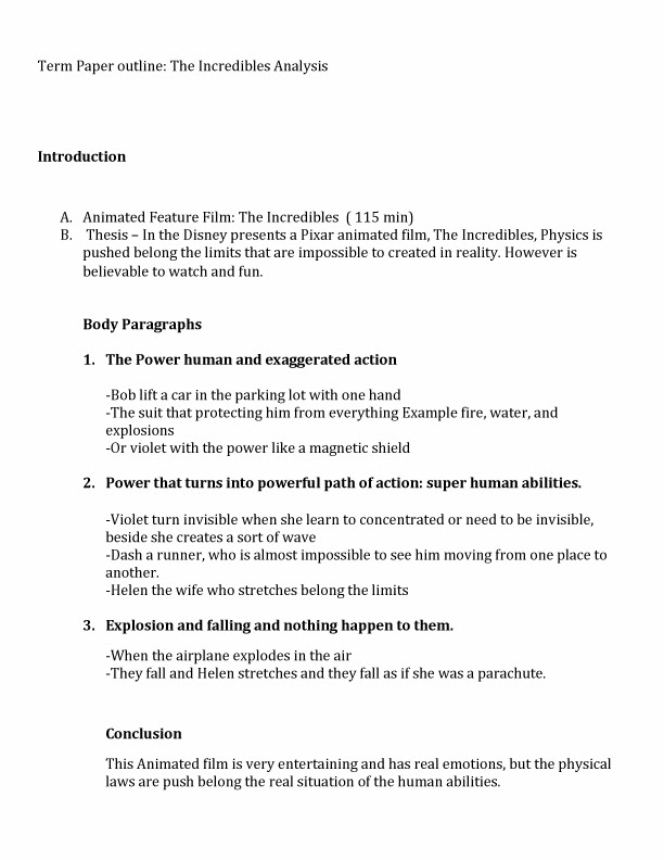 physics term paper format Physics medicine anthropology write paper research paper outline examples as mentioned earlier, here are some sample outlines for research papers: sample #1.