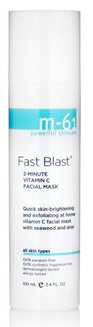 M-61, M-61 Skincare, M-61 Skincare mask, M-61 Skincare Fast Blast 2-Minute Vitamin C Facial Mask, mask, masque, skin, skincare, skin care, BlueMercury