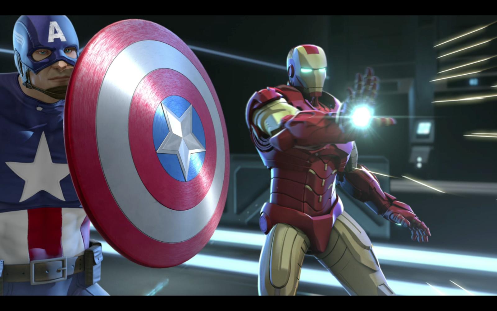 Marvel's Iron Man & Captain America Unite the World