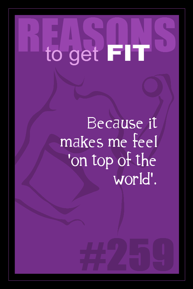 365 Reasons to Get Fit #259