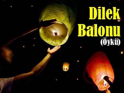 Dilek Balonu adını taşıyan bir öykü.