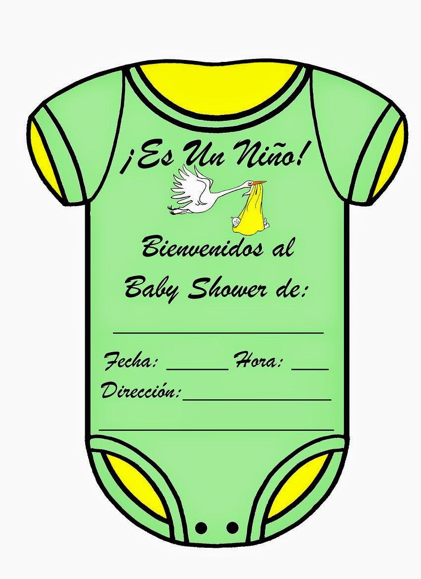 MuyAmeno.com: Tarjetas e Invitaciones de Baby Shower para Niños, parte 3