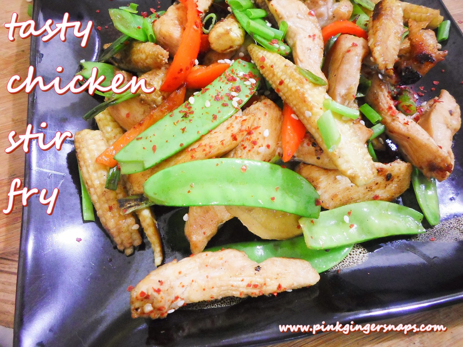 chicken stir-fry for one recipe