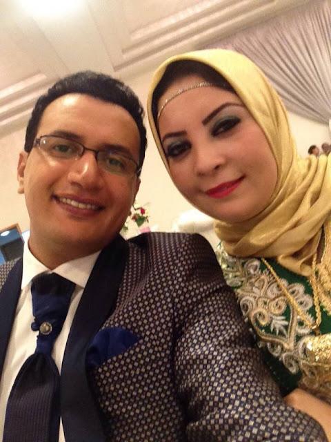 بالصور:هده هي زوجة عبد العالي أنور