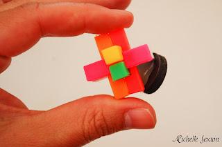 glued puzzle magnet
