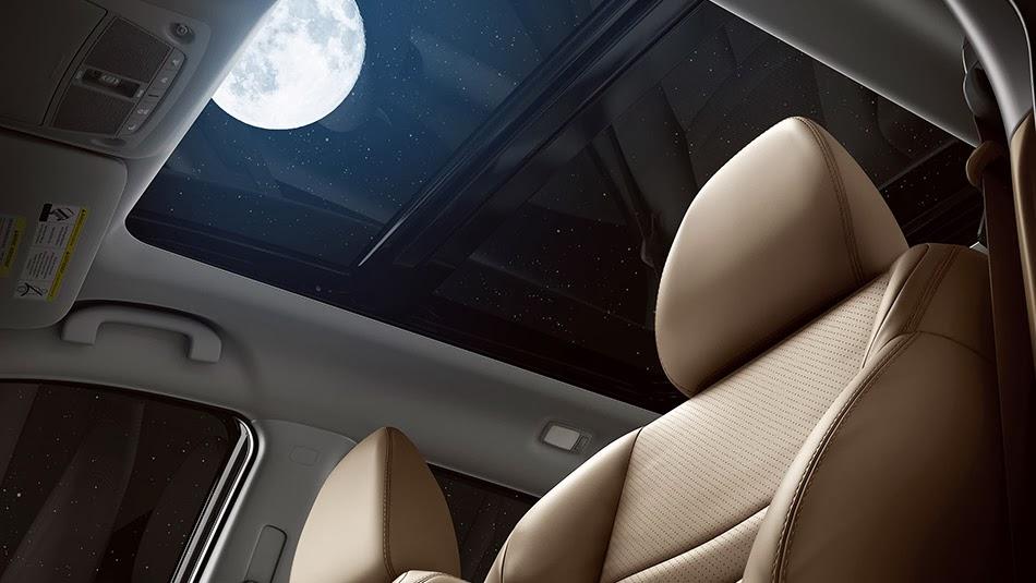 Nissan Rogue 2014 Shown dynamic with folding seats - Mycarzilla