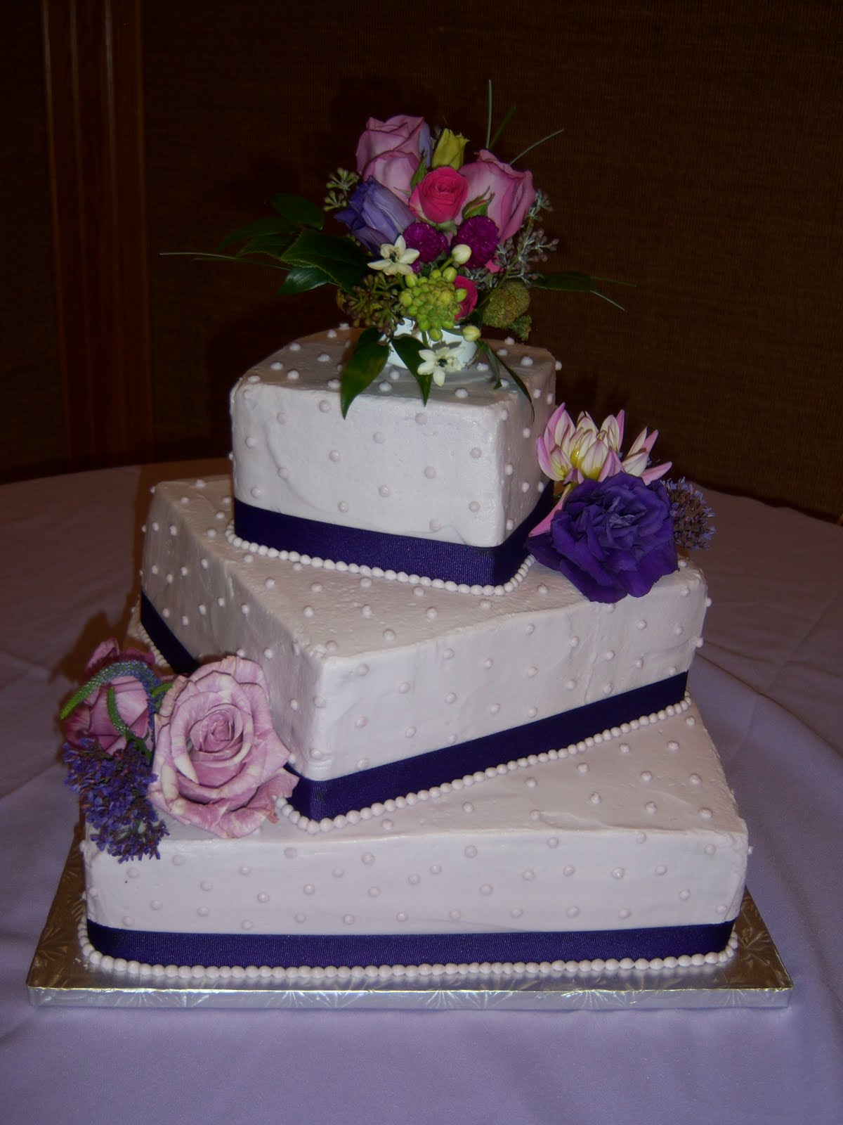 Creative Cakes By Angela Lavender Wedding Cake
