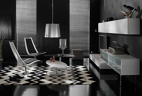 modern wallpaper interior design. These modern interior style