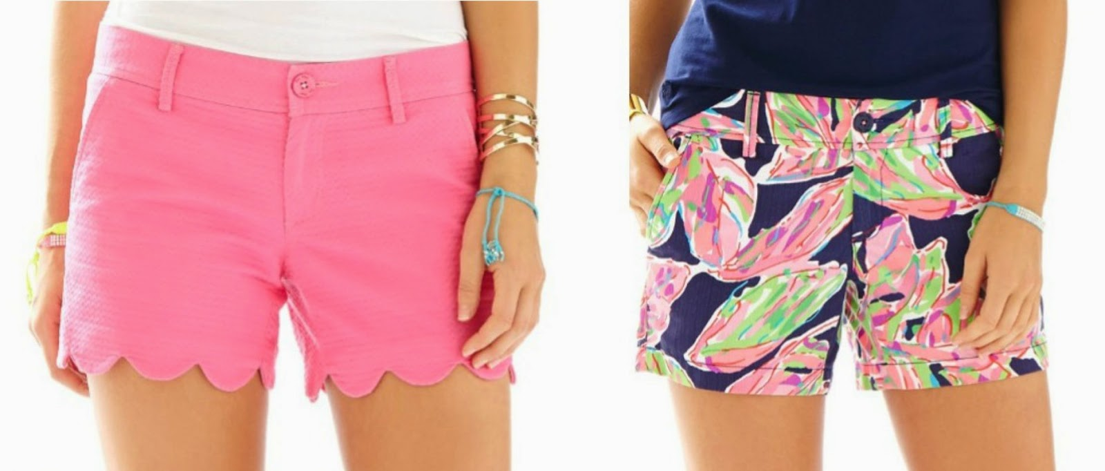 lilly pulitzer scalloped shorts callahan shorts