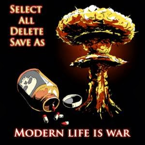 Select All Delete Save As release debut single Modern Life Is War