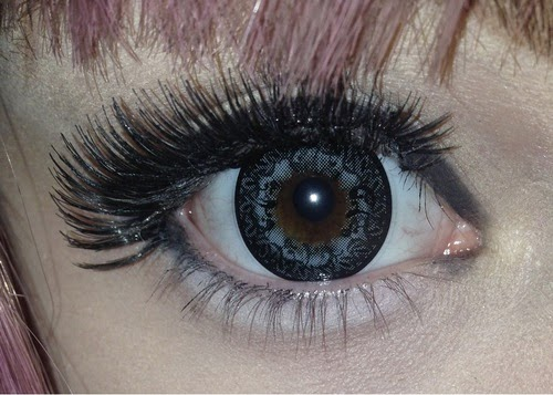 I.Fairy Venus Grey colored contacts